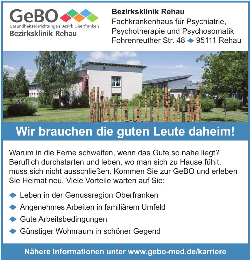 GeBo - Bezirksklinik Rehau
