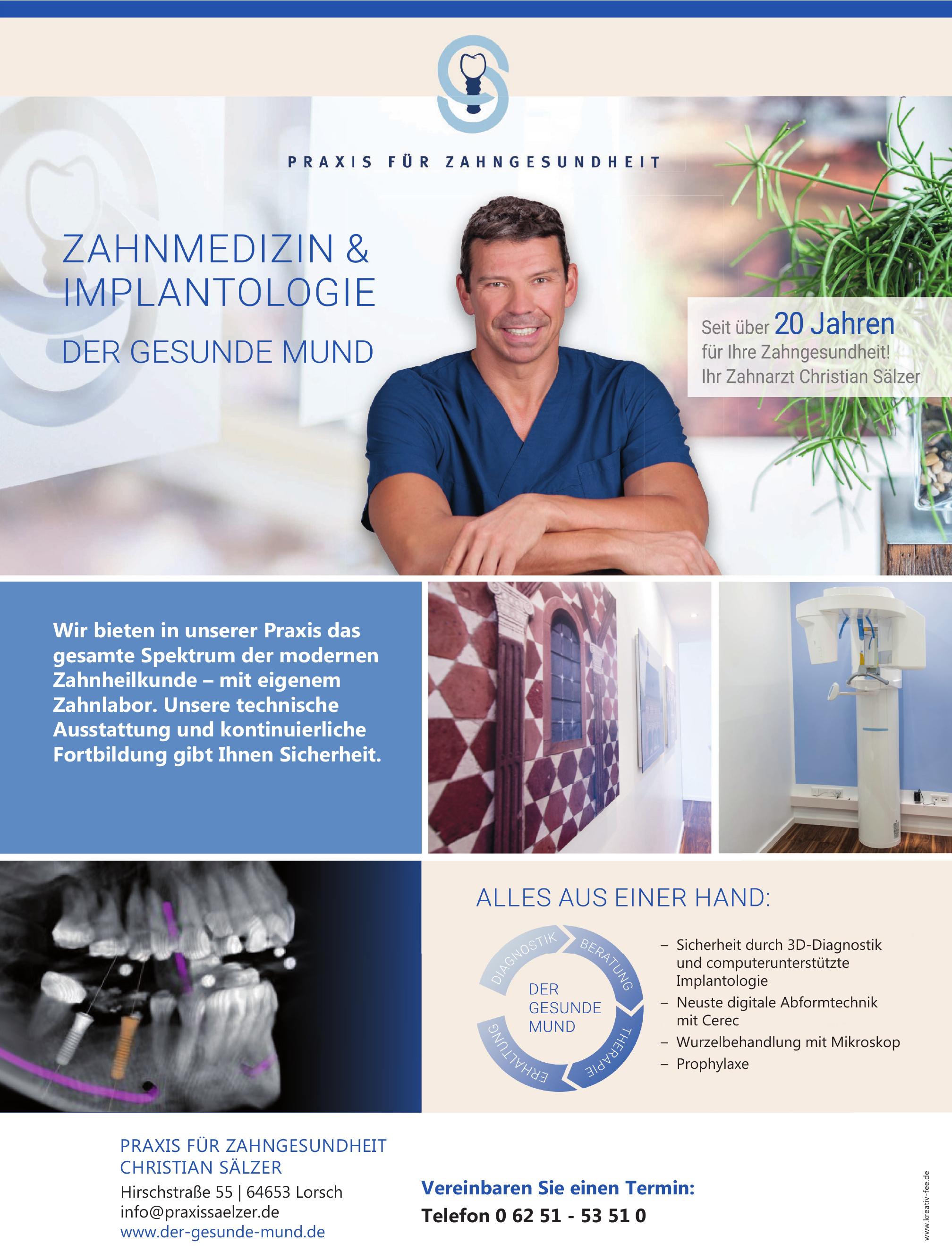 Praxis für Zahngesundheit Christian Sälzer