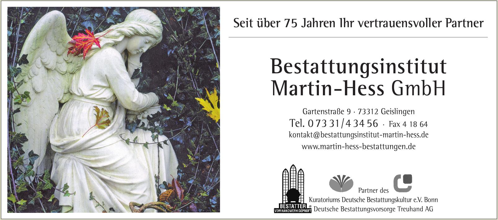 Bestattungsinstitut Martin-Hess GmbH
