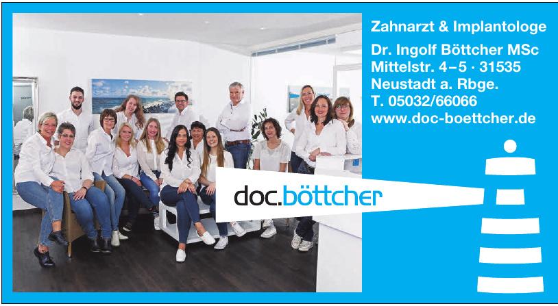Zahnarzt & Implantologe Dr. Ingolf Böttcher MSc