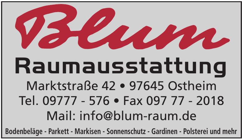 Blum Raumausstattung