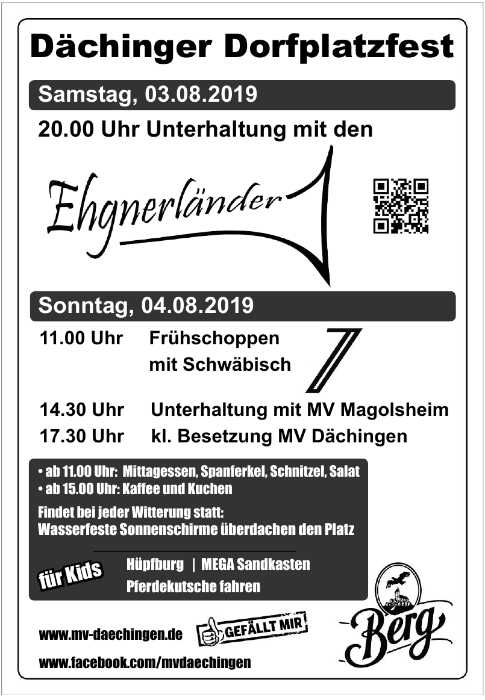 Dächinger Frühlingsfest