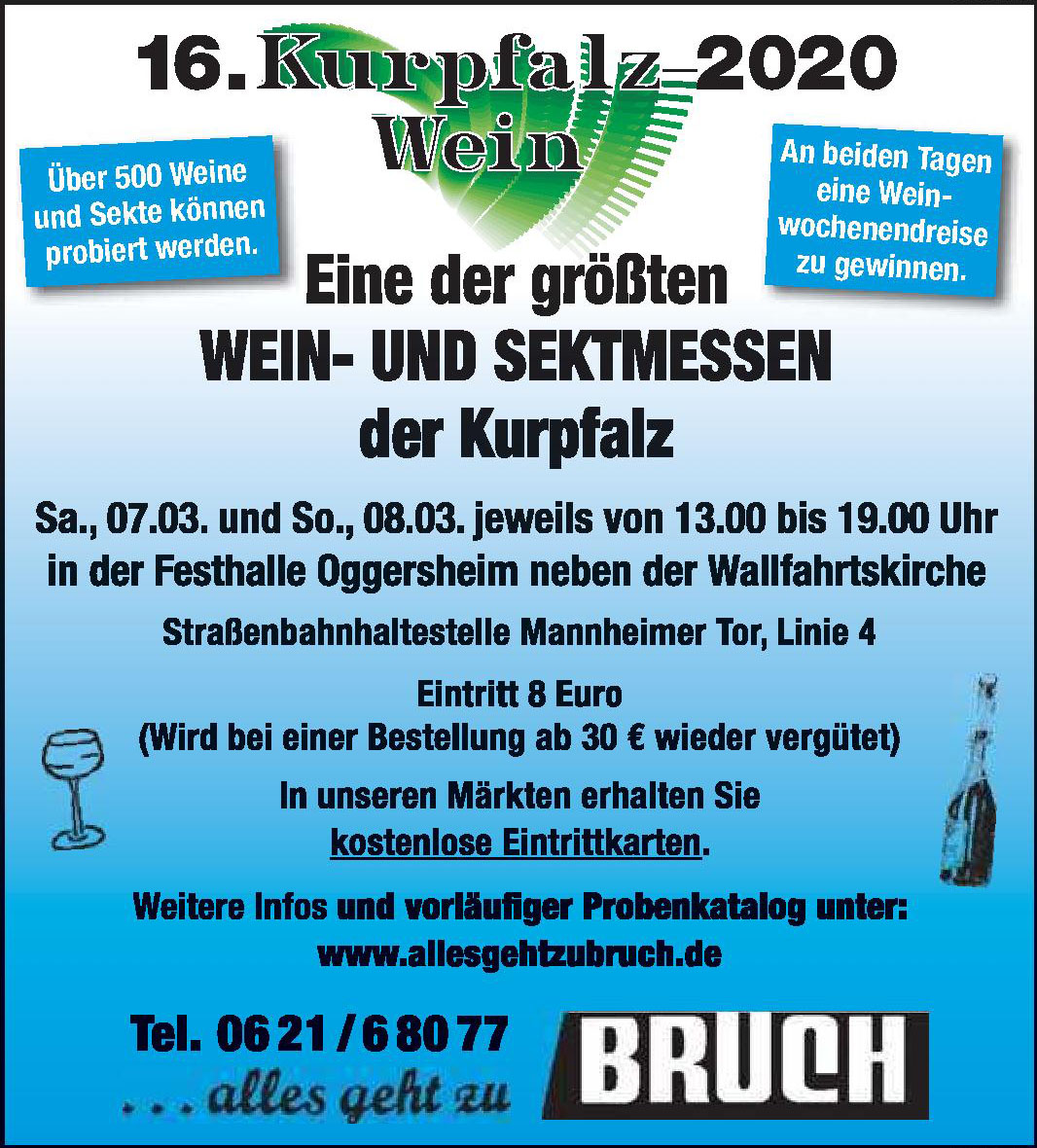 16. Kurpfalz 2020 Wein