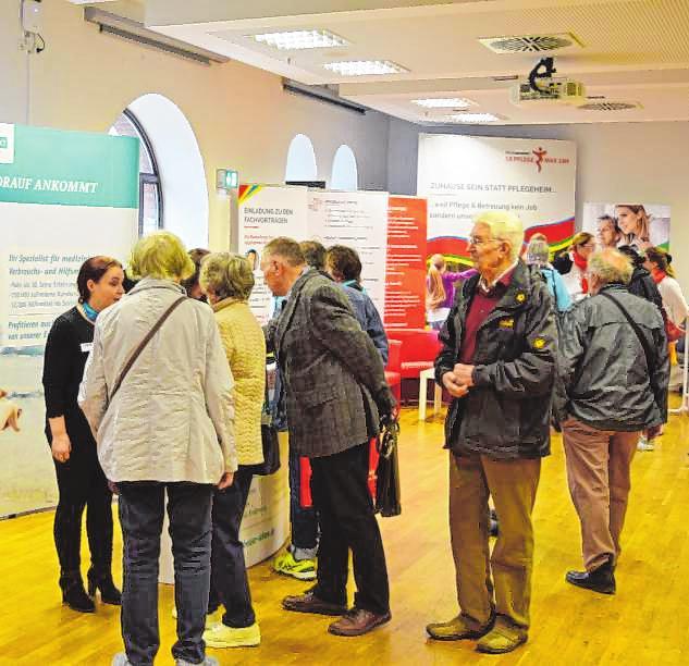 Mannheimer Pflegeforum 2020: Informieren und austauschen