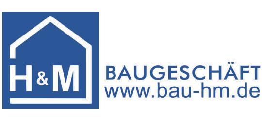 Baugeschäft H&M GmbHRohbauarbeiten, Sanierungen, Reparaturen, Schlüsselfertig/-Objektbau, Außenanlagenwww.bau-hm.de