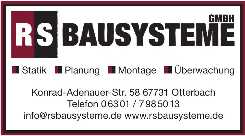 RS Bausysteme GmbH