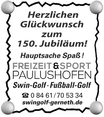 Freizeit Und Sport Paulushofen
