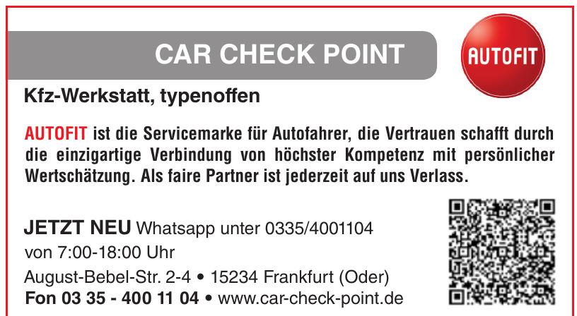 Car- Check- Point - Autoservice & Reparatur