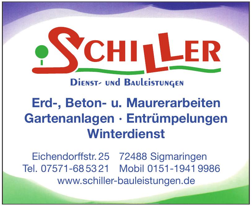 Schiller - Dienst- und Bauleistungen