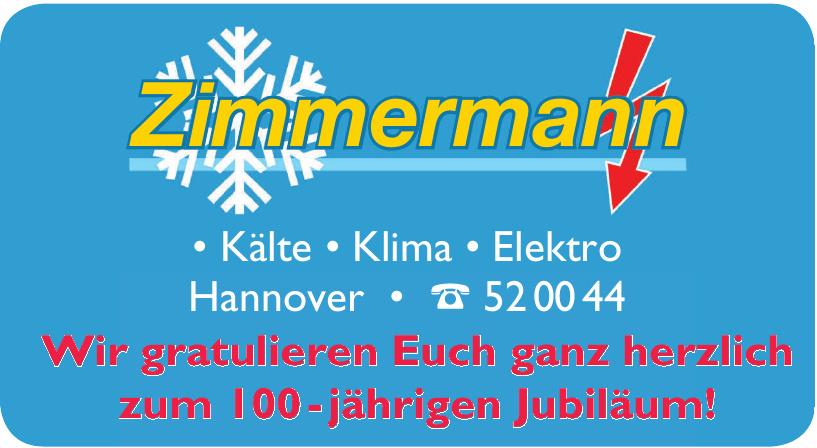 Zimmermann Kälte • Klima • Elektro