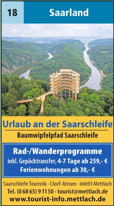 Saarschleife Touristik