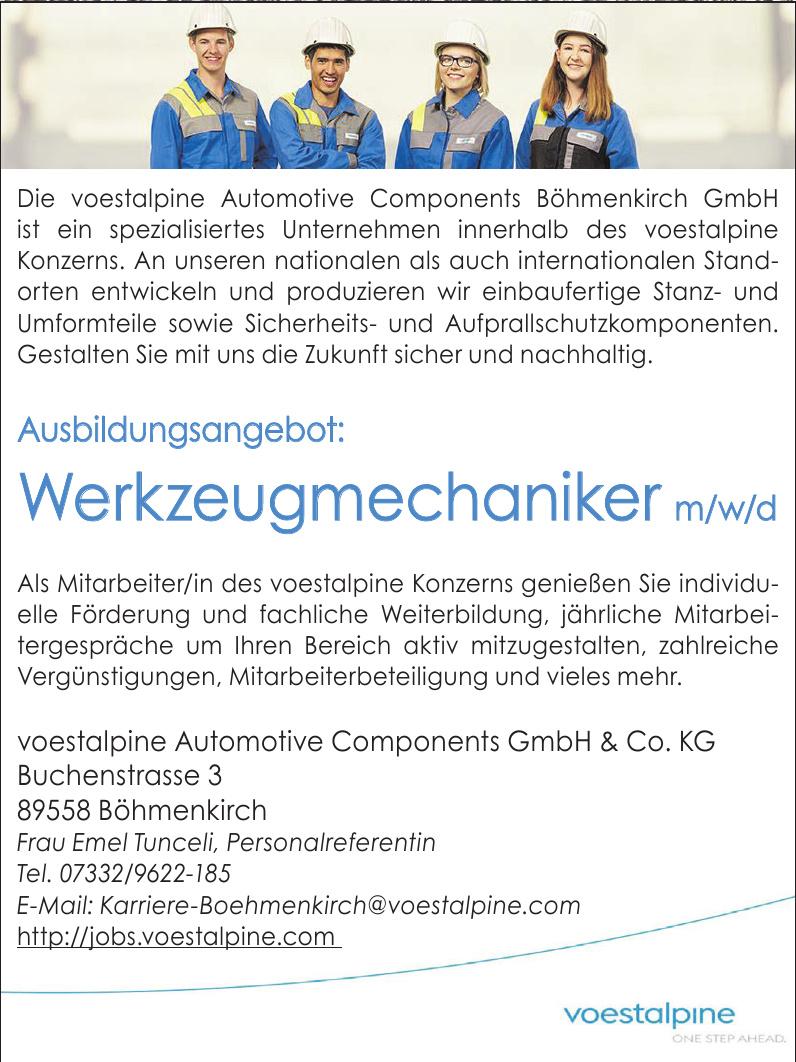 voestalpine Automotive Components GmbH & Co. KG