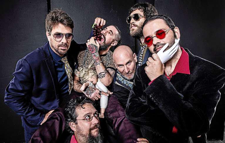 Die Jewish Monkeys versprechen eine energetische Bühnenshow, bei der Klezmer auf Punk trifft. FOTO: ILYA MELNIKOV