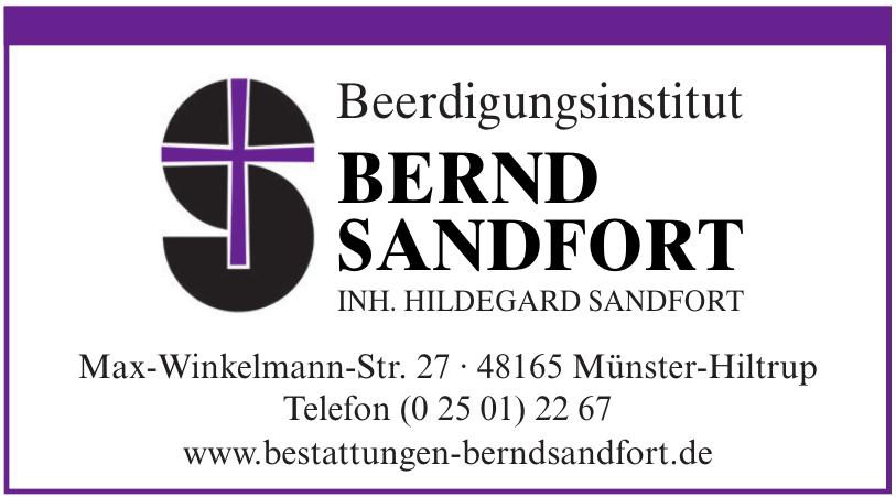 Beerdigungsinstitut Bernd Sandfort