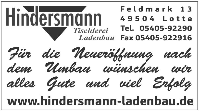 Hindersmann - Tischlerei-Ladenbau