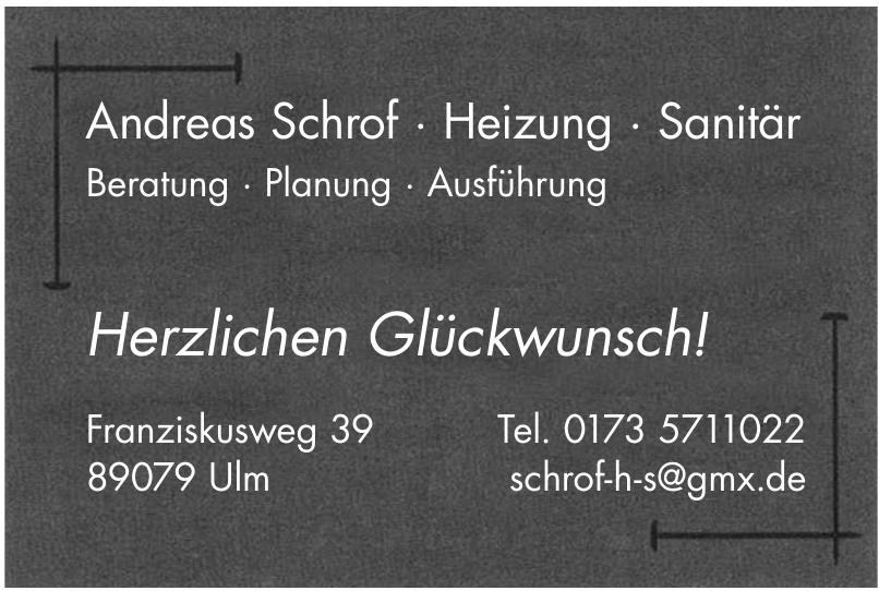 Andreas Schrof