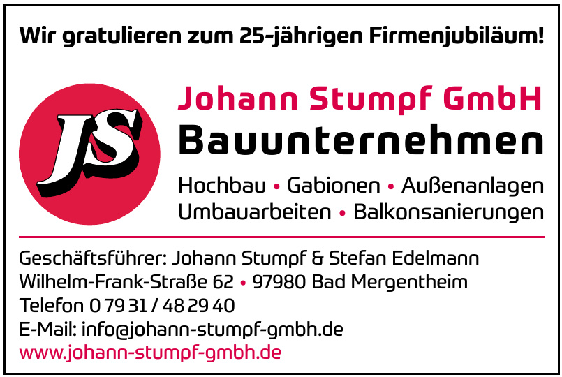 JS Johann Stumpf GmbH Bauunternehmen