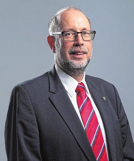 Roland Miola, Bürgermeister der Gemeinde Fichtenberg.