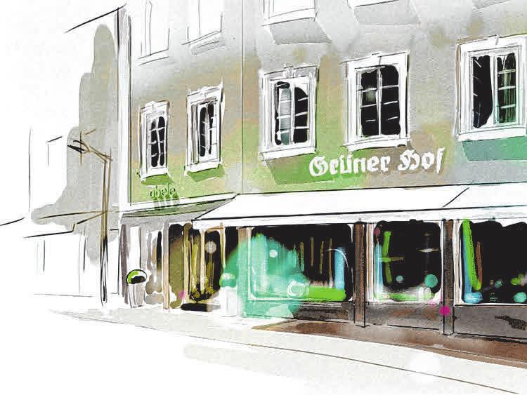 Ausstellungsräume und moderne Wohninspirationen – das Ladengeschäft im Grünen Hof in der Ellwanger Innenstadt.