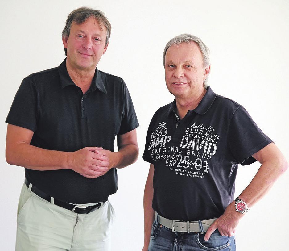 Ralph Herrmann und Joachim Littan, Leitende Augenärzte