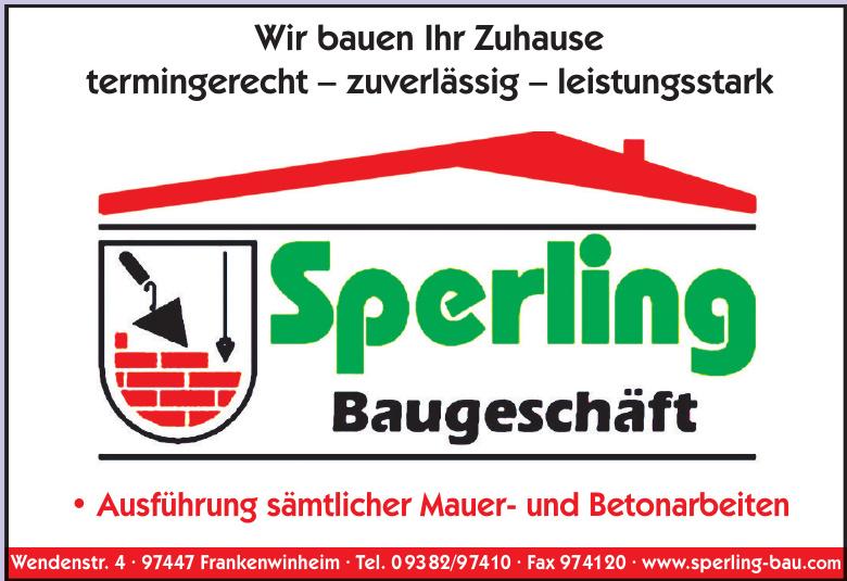 Sperling Baugeschäft