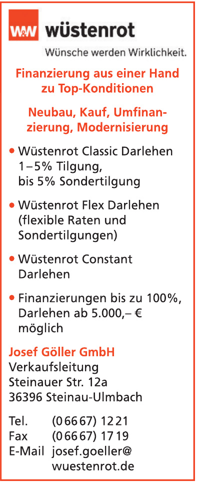 Wüstenrot - Josef Göller GmbH