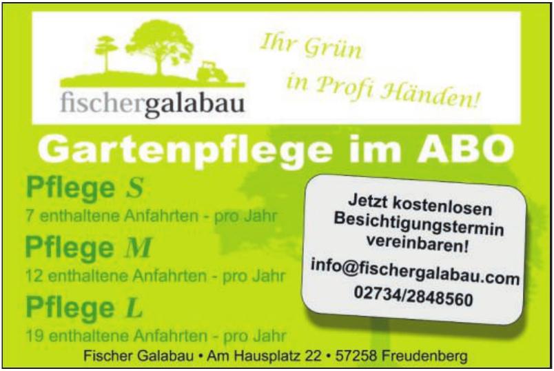 Fischer Galabau Grünpflege & Gartengestaltung