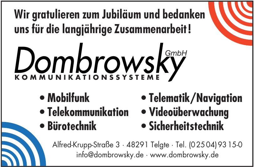 Kommunikationssysteme Dombrovsky GmbH