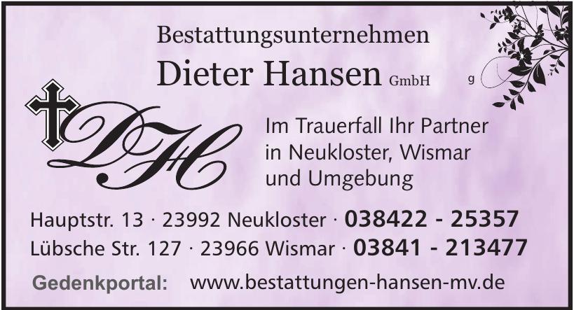 Bestattungsunternehmen Dieter Hansen GmbH