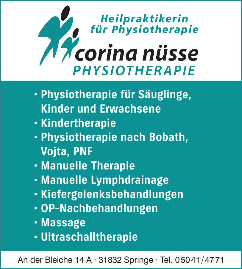 Corina Nüsse - Physiotherapie
