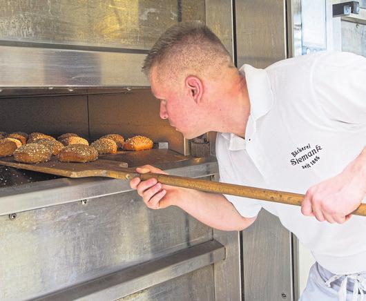Bäckermeister Norbert Wiederhold