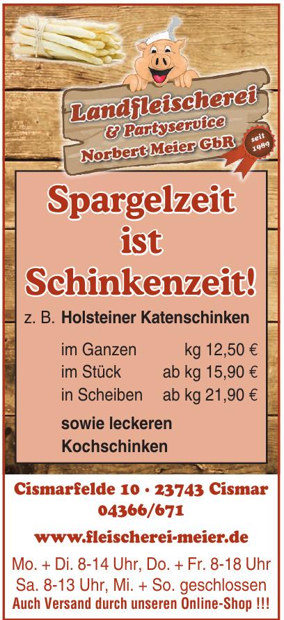 Landfleischerei & Partyservice Norbert Meier GbR
