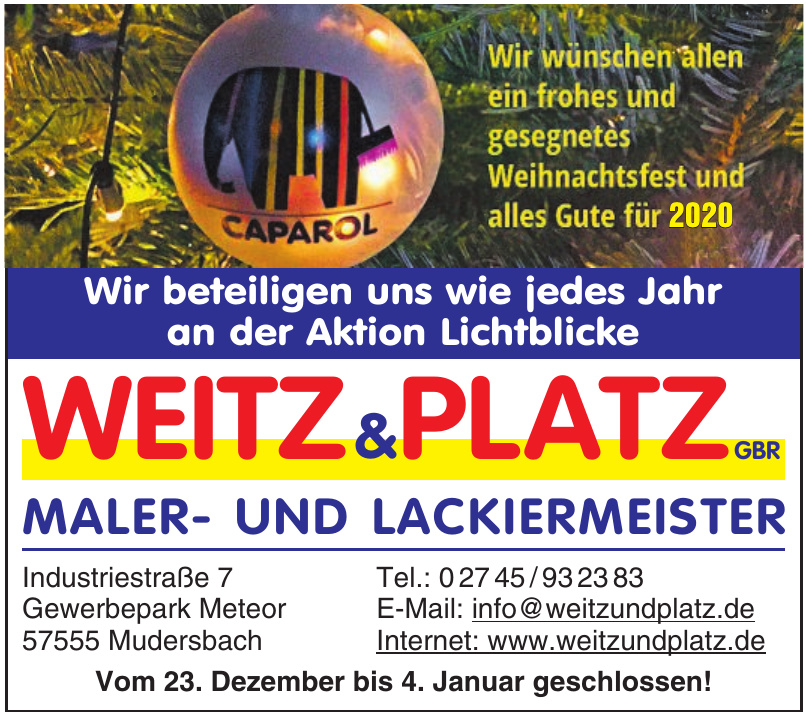 Weitz & Platz Gbr