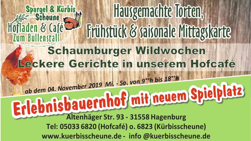Spargel & Kürbis Scheune