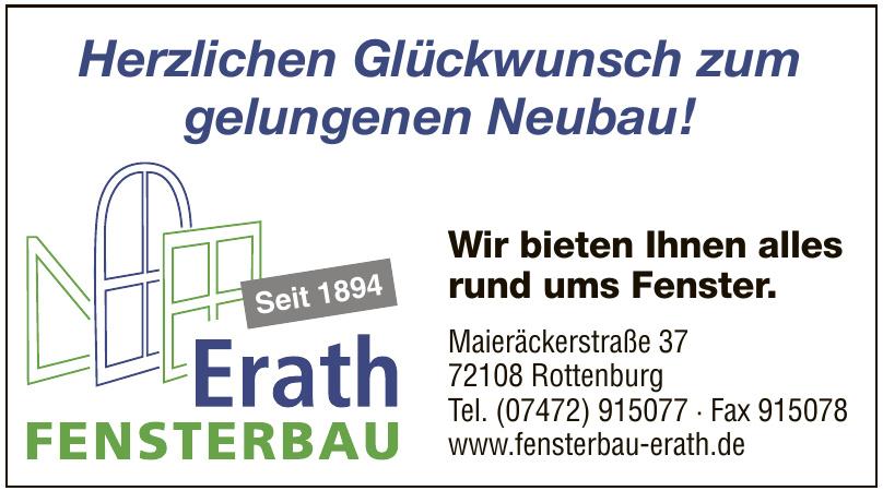 Erath Fensterbau