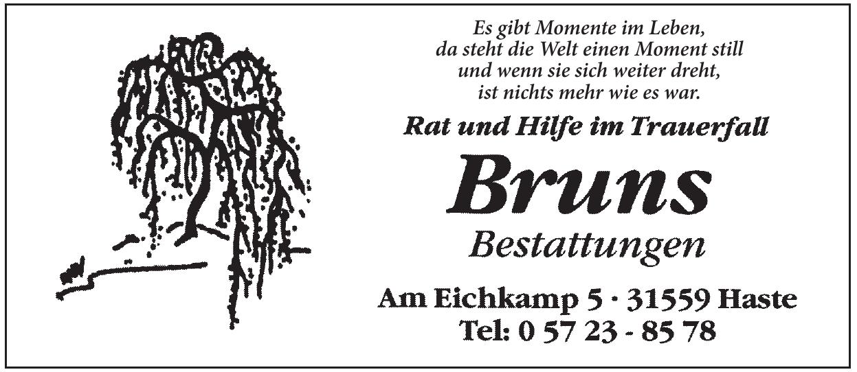 Bruns Bestattungen