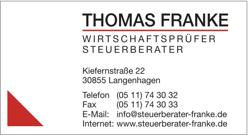 Thomas Franke