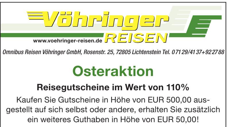 Omnibus Reisen Vöhringer GmbH