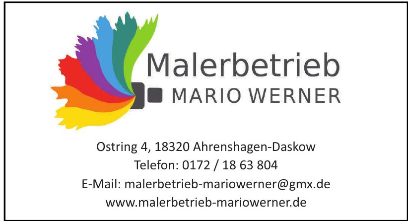Malermeister Mario Werner