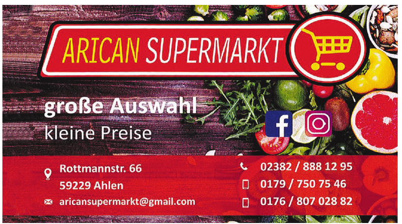 Arican Supermarket