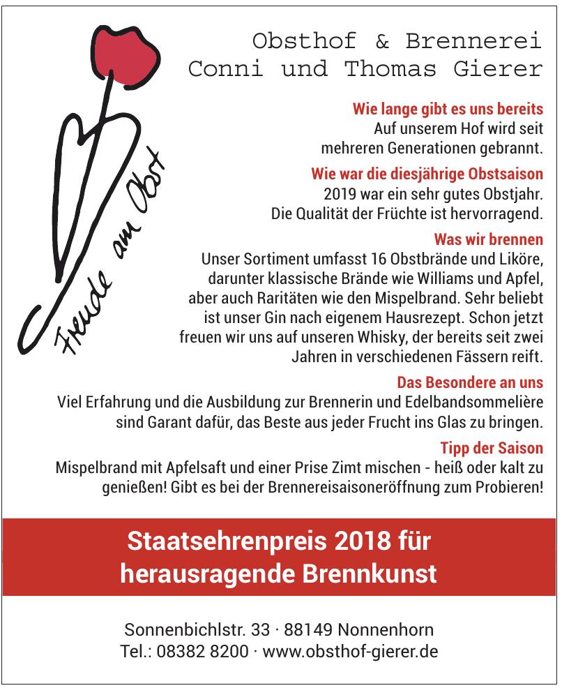 Obsthof & Brennerei Thomas Gierer