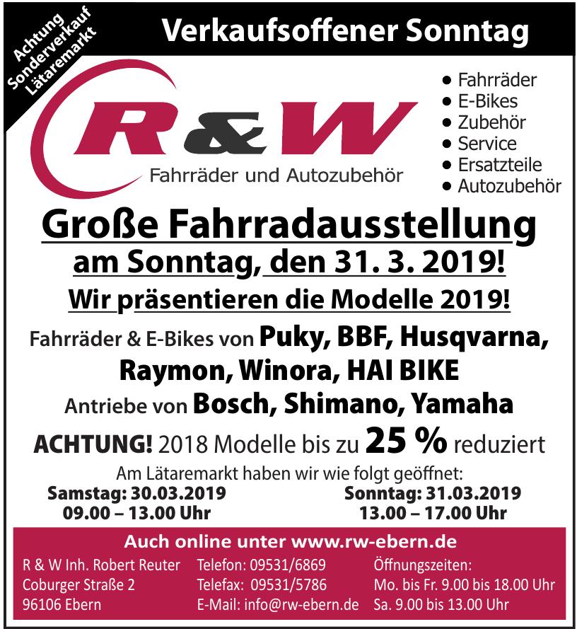 R & W Inh. Robert Reuter