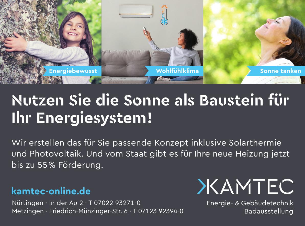 Kamtec Energie- & Gebäudetechnik Badausstellung