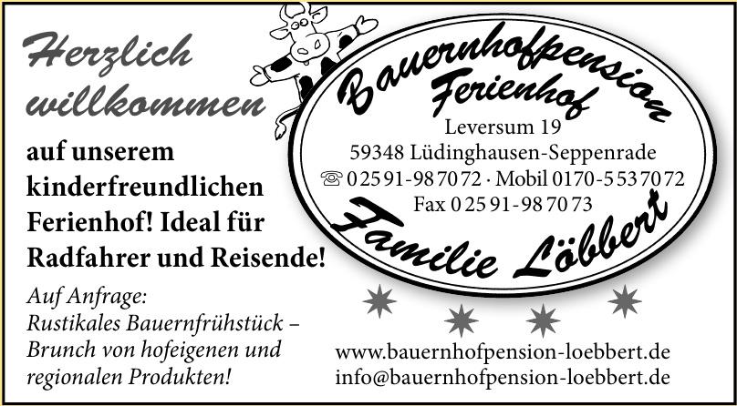 Bauernhofpension Ferienhof