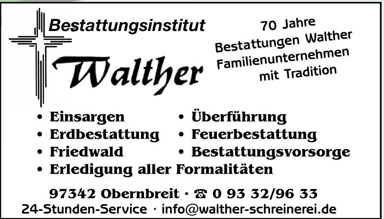 Bestattungsinstitut Walther