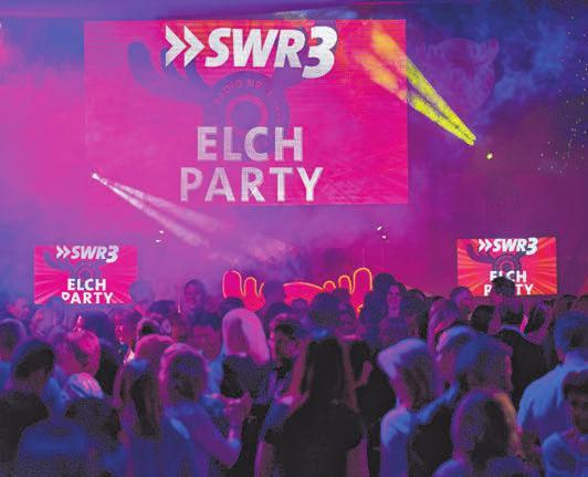Die SWR3-Elch-Party.