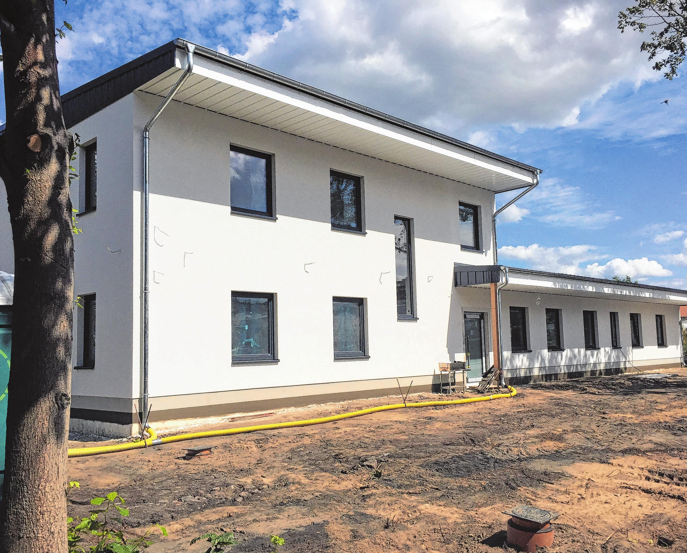 Die Therapieräume befinden sich im Neubau auf 500 Quadratmeter Fläche.
