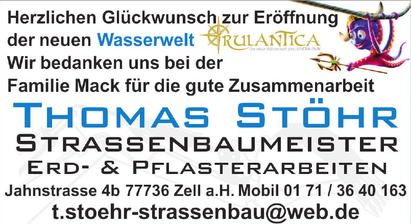 Thomas Stöhr Strassenbaumeister Erd- & Pflasterarbeiten