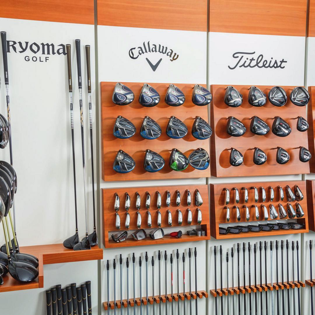Neueste Schläger aller namhafter Marken führt Classic Club Repair in seinem breiten Sortiment.