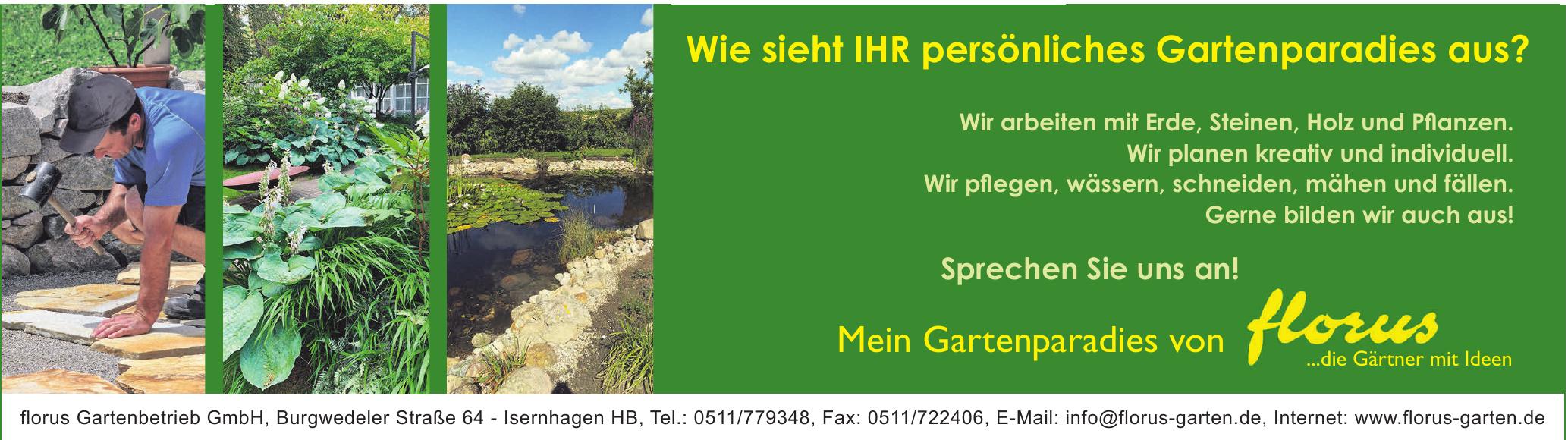florus Gartenbetrieb GmbH,